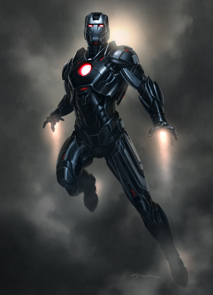 All images used with permission by the artist    169  Marvel Comics Iron Man Stealth Armor Concept Art