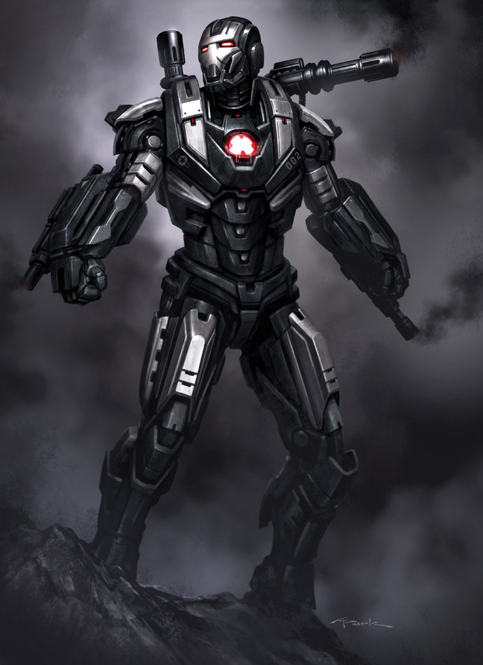 Iron Man 3 Armor Concept Designs by Andy ParkIron Man Stealth Armor Concept Art