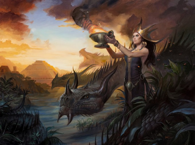Lucas_Graciano_Art_15_Illustration_Dragon_Queen