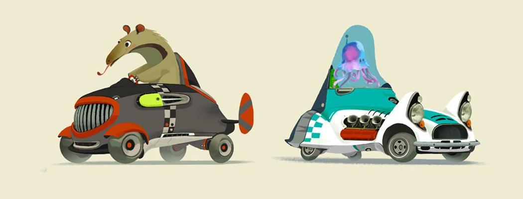 Mike Yamada Concept Art Illustration MA01