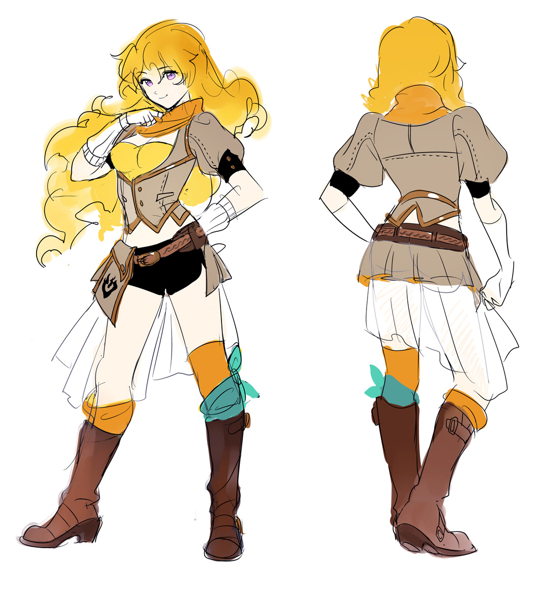 Character Design Wiki : Rooster teeth productions presents rwby concept art by ein