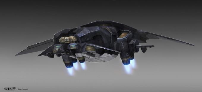 15-TheBureau_XCOM_Concept_Art_SamBrown_AlienGunship