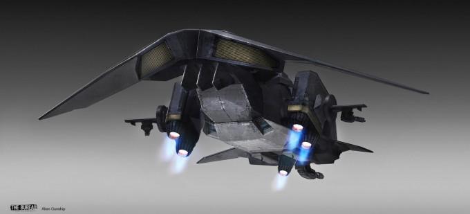 16-TheBureau_XCOM_Concept_Art_SamBrown_AlienGunship