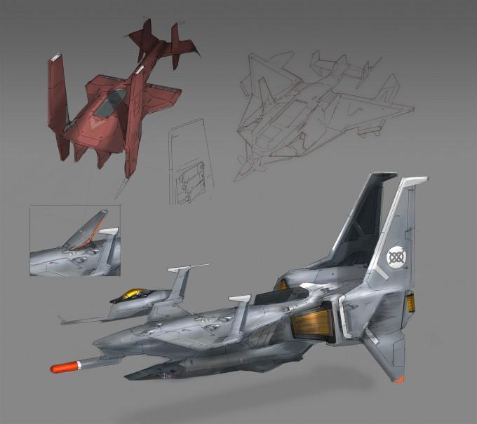 Al_Crutchley_Concept_Art_ships_sheetsm