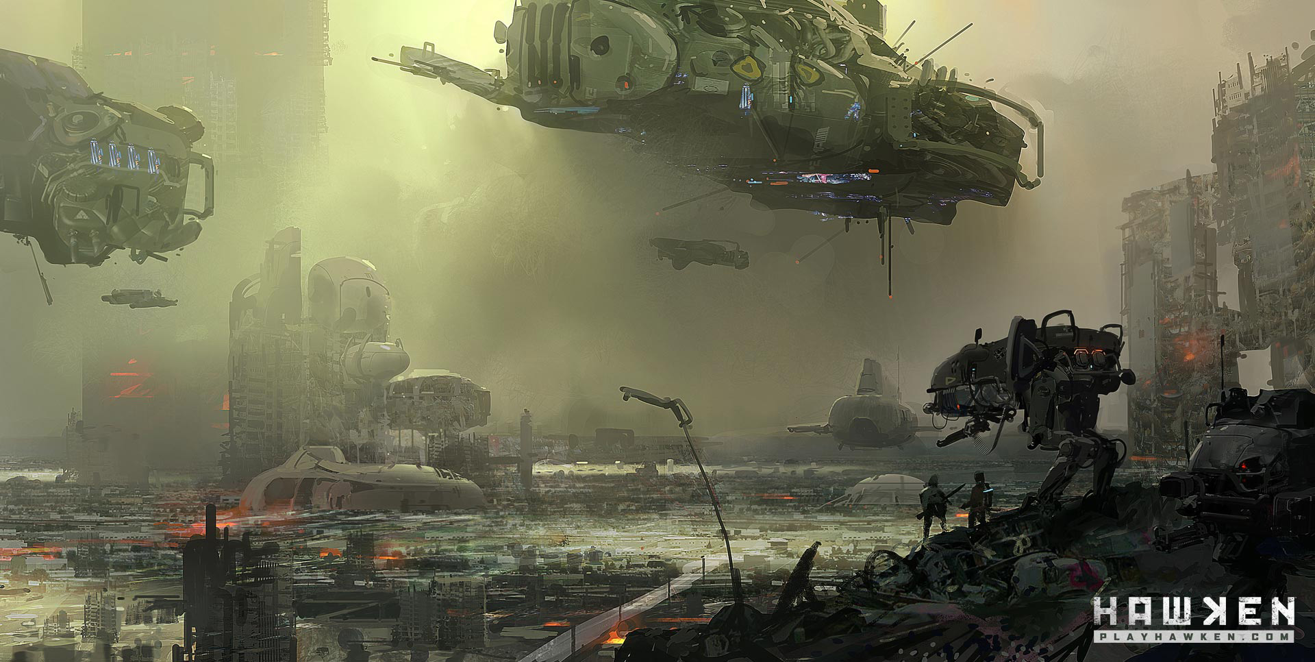 Hawken Concept Art | Concept Art World