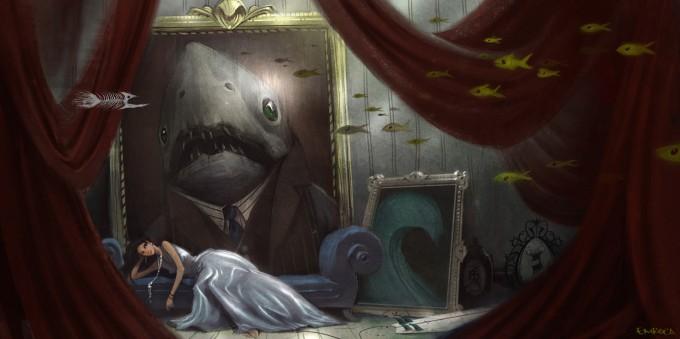 Jose_Emroca_Flores_Art_Illustration_Sharky