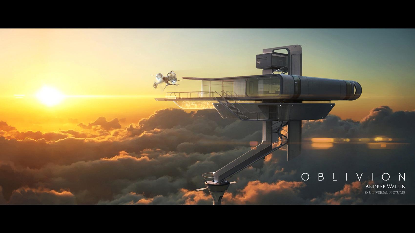 Oblivion Concept Illustrations by Andrée Wallin | Concept Art World