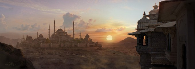 Pablo_Palomeque_Concept_Art_DESERT-SUNSET