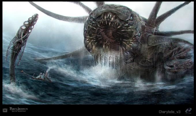 Percy jackson sea of monsters concept art by sebastian meyer