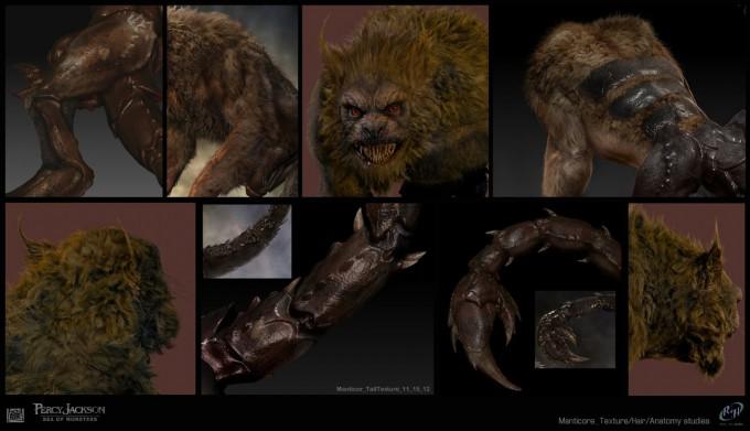 Percy-Jackson_Manticore-texture-studies_Sebastian_Meyer