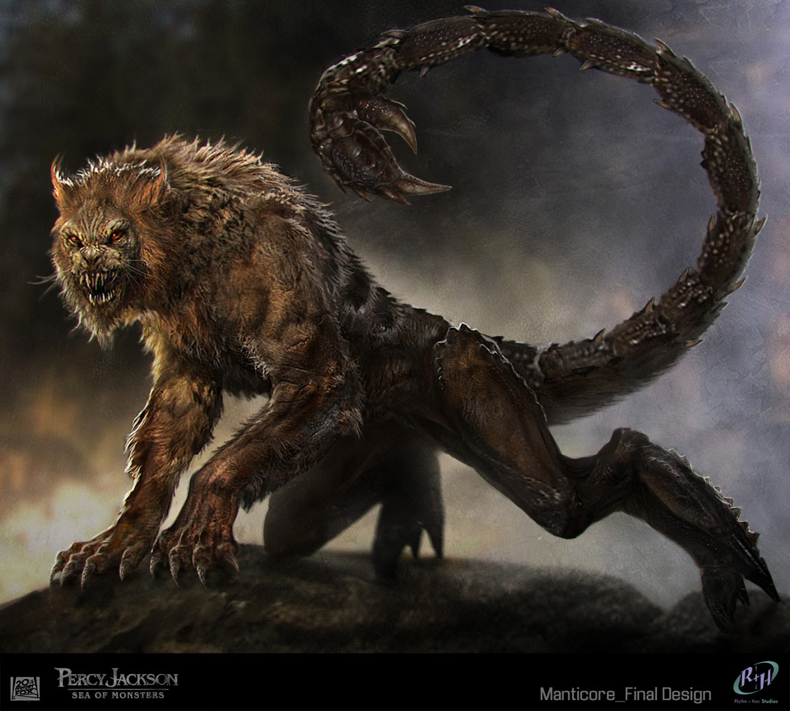 Percy jackson sea of monsters concept art by sebastian meyer concept art world - Animales mitologicos grifo ...