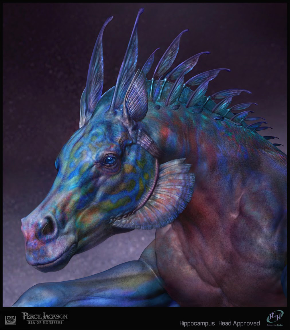 If I were a dragon ... I would look like this .. - Page 5 Percy-Jackson_hippocampus_head_Sebastian_Meyer