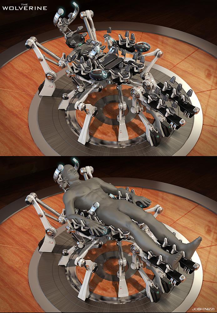 The Wolverine Concept Art By Josh Nizzi Concept Art World