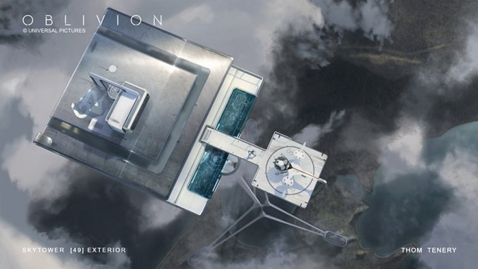 ThomTenery_Oblivion_Concept_Art_Skytower_ExteriorBubbleship