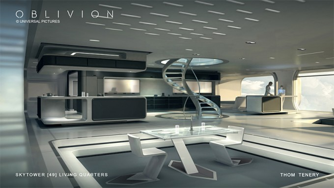 ThomTenery_Oblivion_Concept_Art_Skytower_LivingQuarters