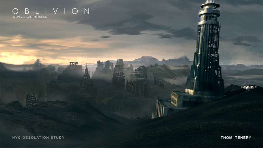 Oblivion Concept Art by Thom Tenery | Concept Art World