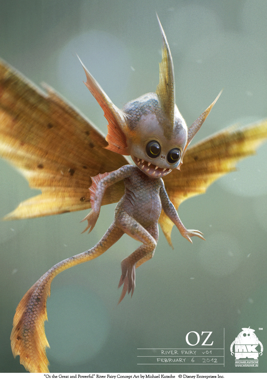 Oz The Great And Powerful Character Creature Concept