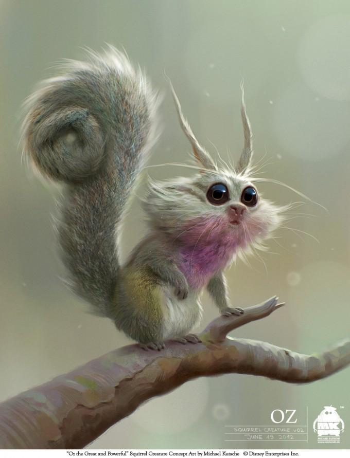 squirrel_creature_by_michael_kutsche_Oz_Concept_Art