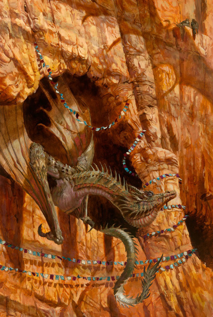 Aaron_Miller_Art_Red-Rocks-Dragon-flat
