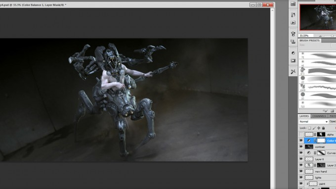 Cyborg_Design_Concept_Art_Production_Techniques_08