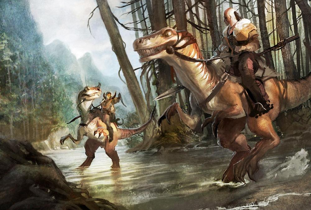 The Dinosaur Kingdoms Role Playing Game Dinosaur_Concept_Art_01_Derk_Venneman