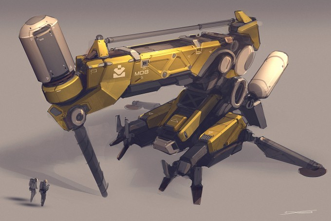 Quantum_Rush_Concept_Art_drill_unit_01_concept