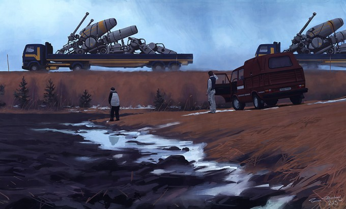 Simon_Stalenhag_robottransport