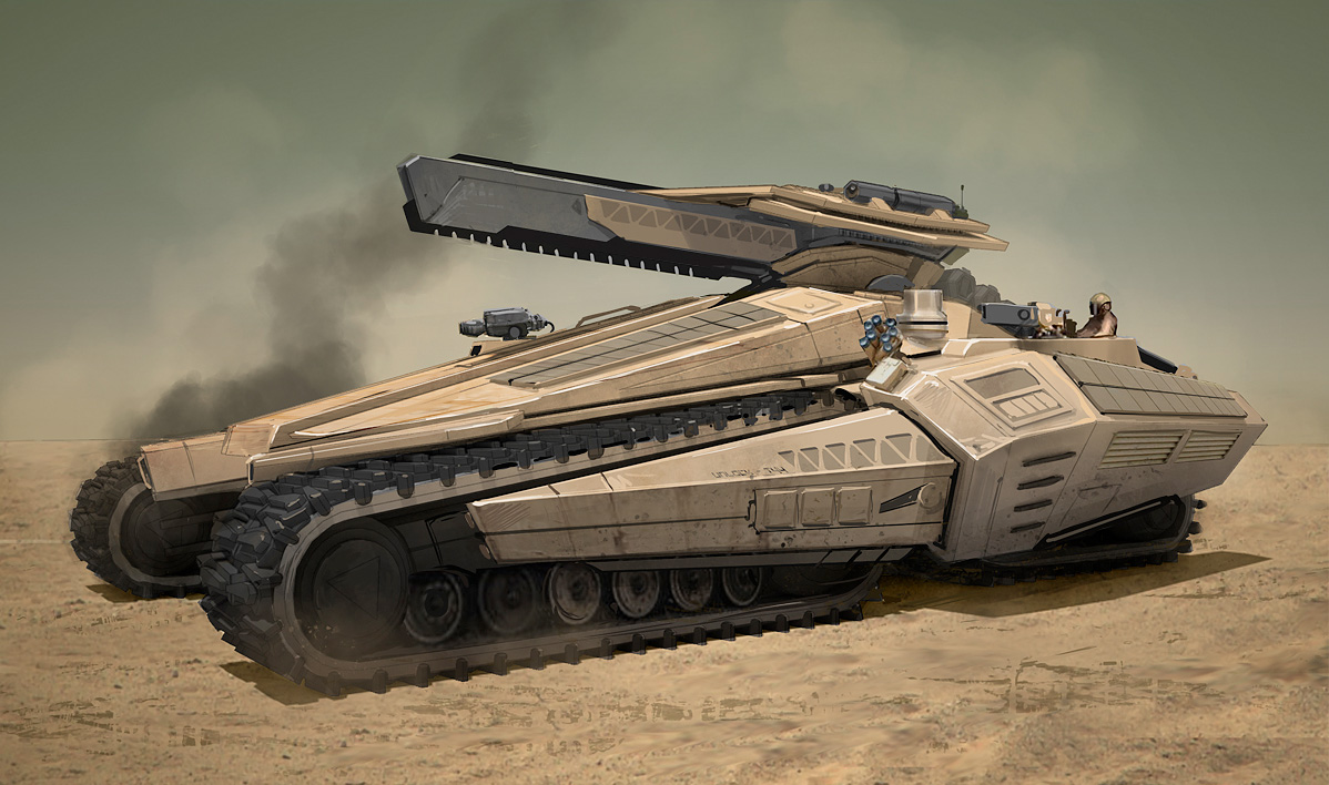 Concept Art Sci Fi Artillery