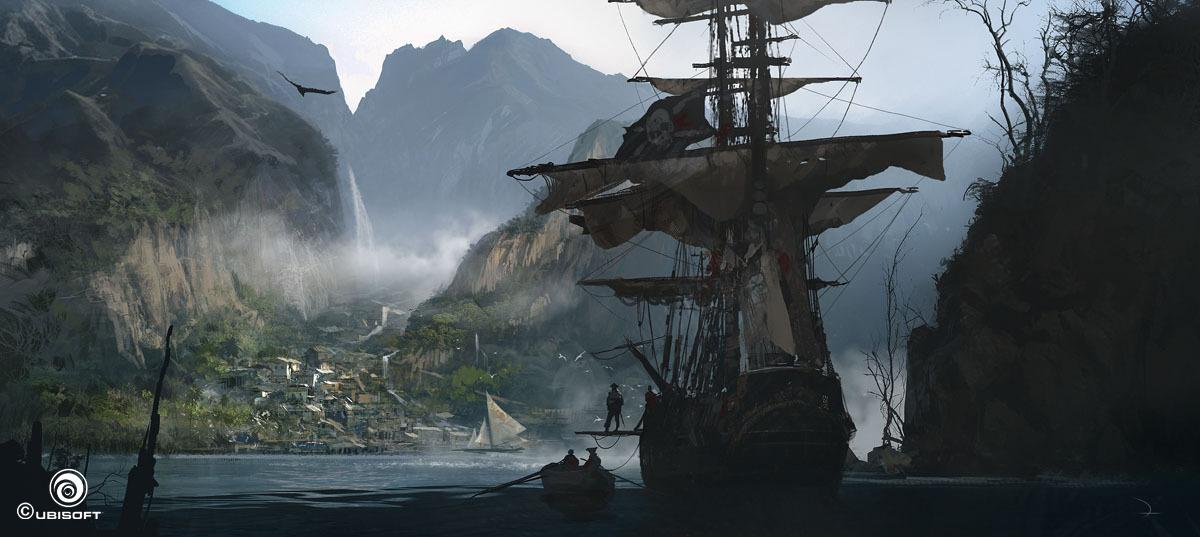 Assassins Creed Black Flag concept art | Assassin'-s Creed IV ...