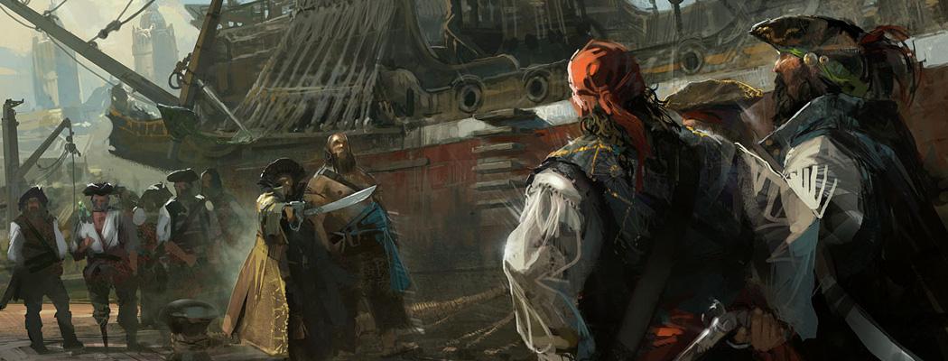 Assassin S Creed Iv Black Flag Concept Art By Martin Deschambault