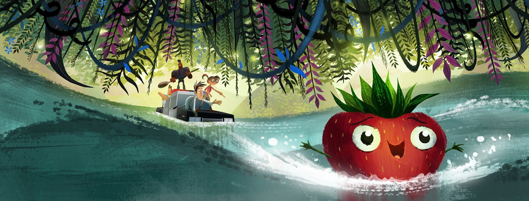 Cloudy With a Chance of Meatballs 2 Art PO MA01