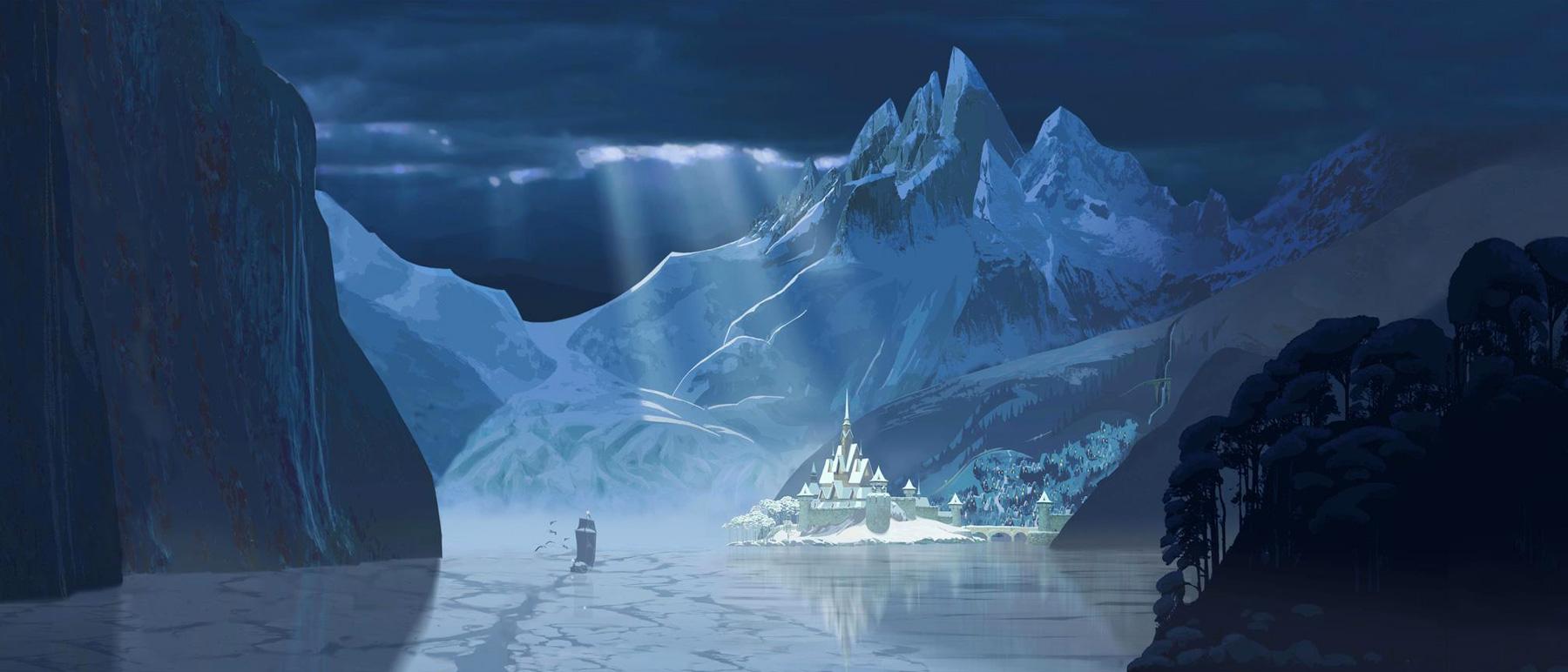 Frozen Concept Art | Concept Art World