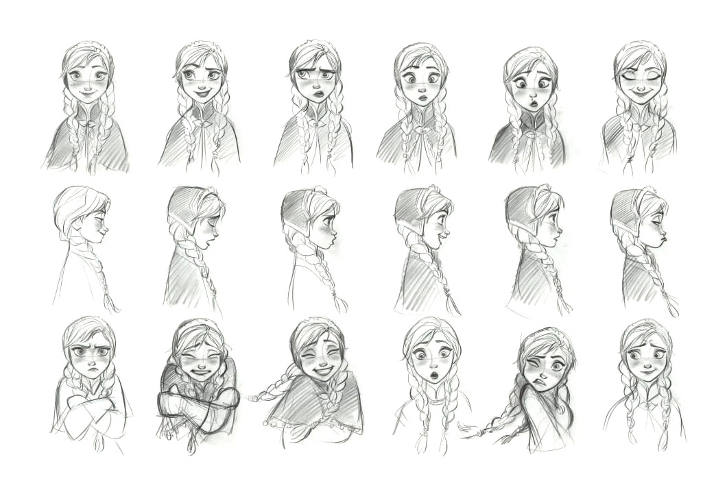 Disney Character Concept Design : Frozen concept art world