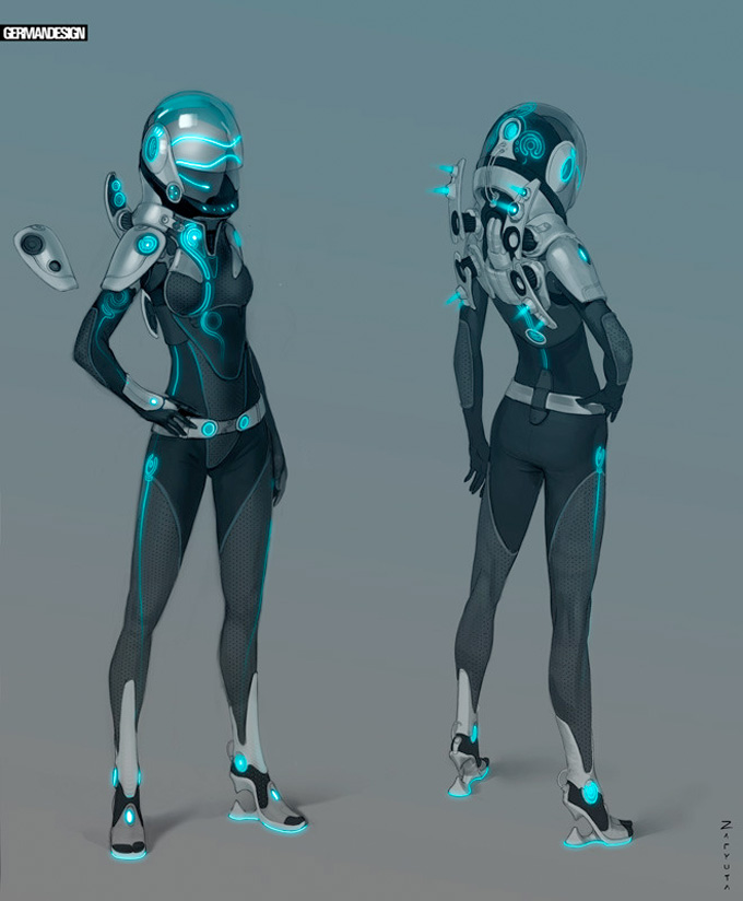 39 Concept Art And Illustrations Of Astronauts
