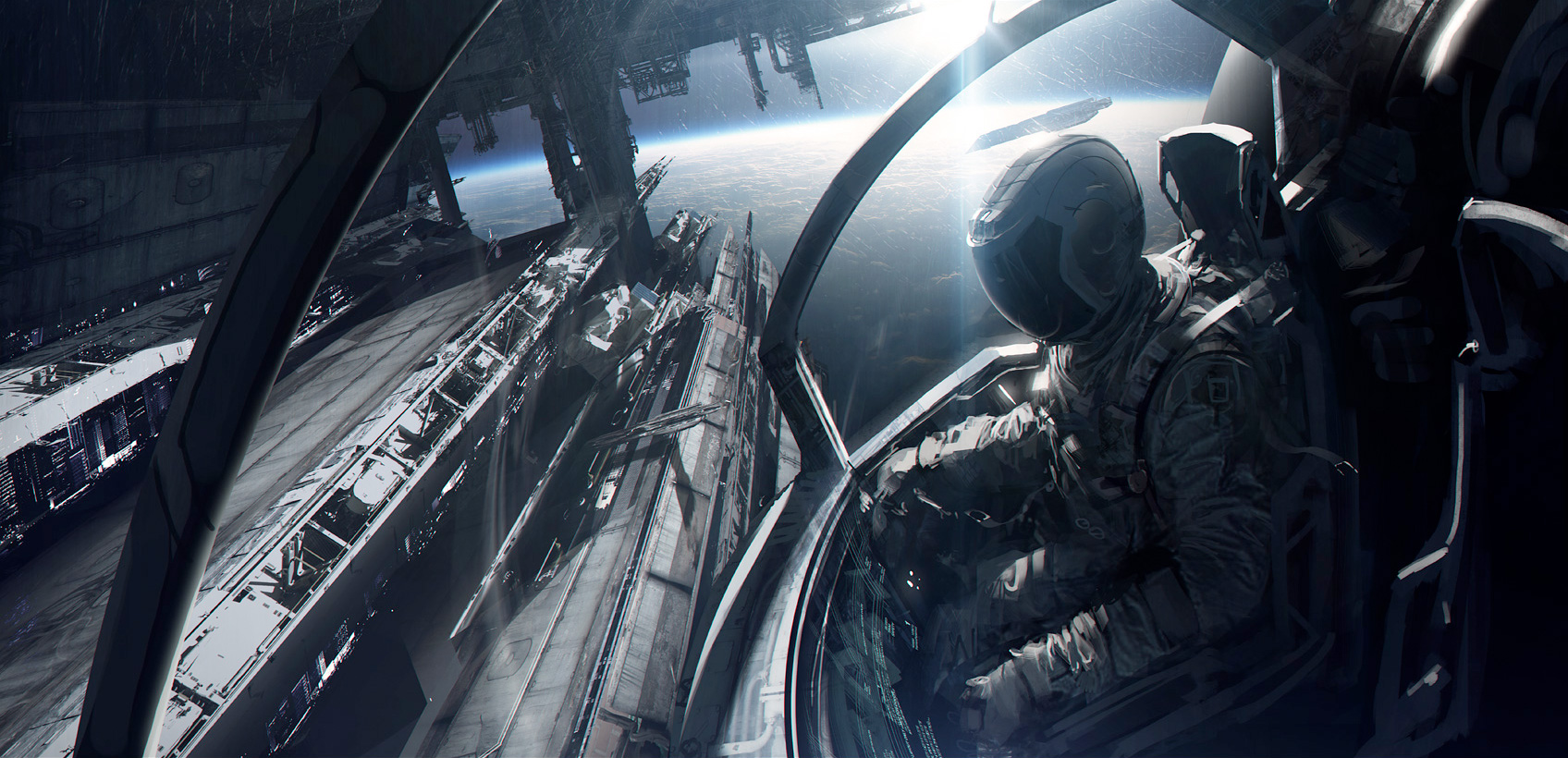 39 concept art and illustrations of astronauts concept for Space concept