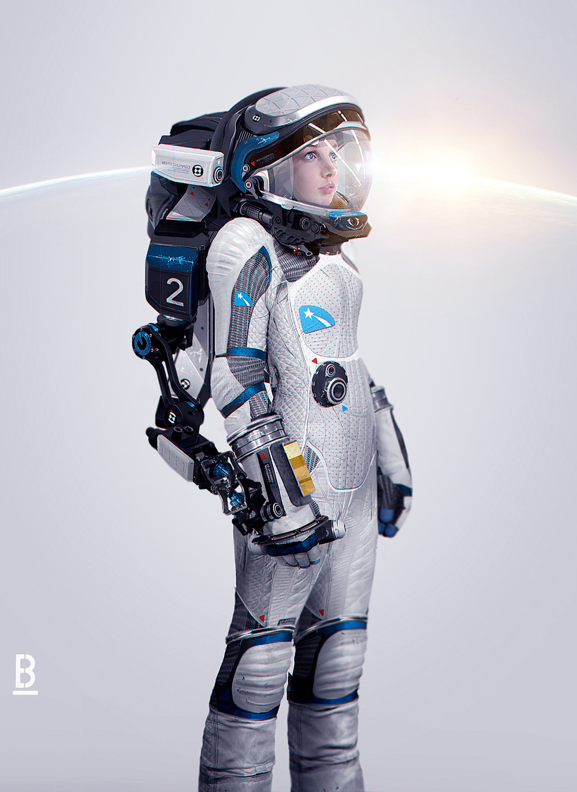 astronaut design - photo #34