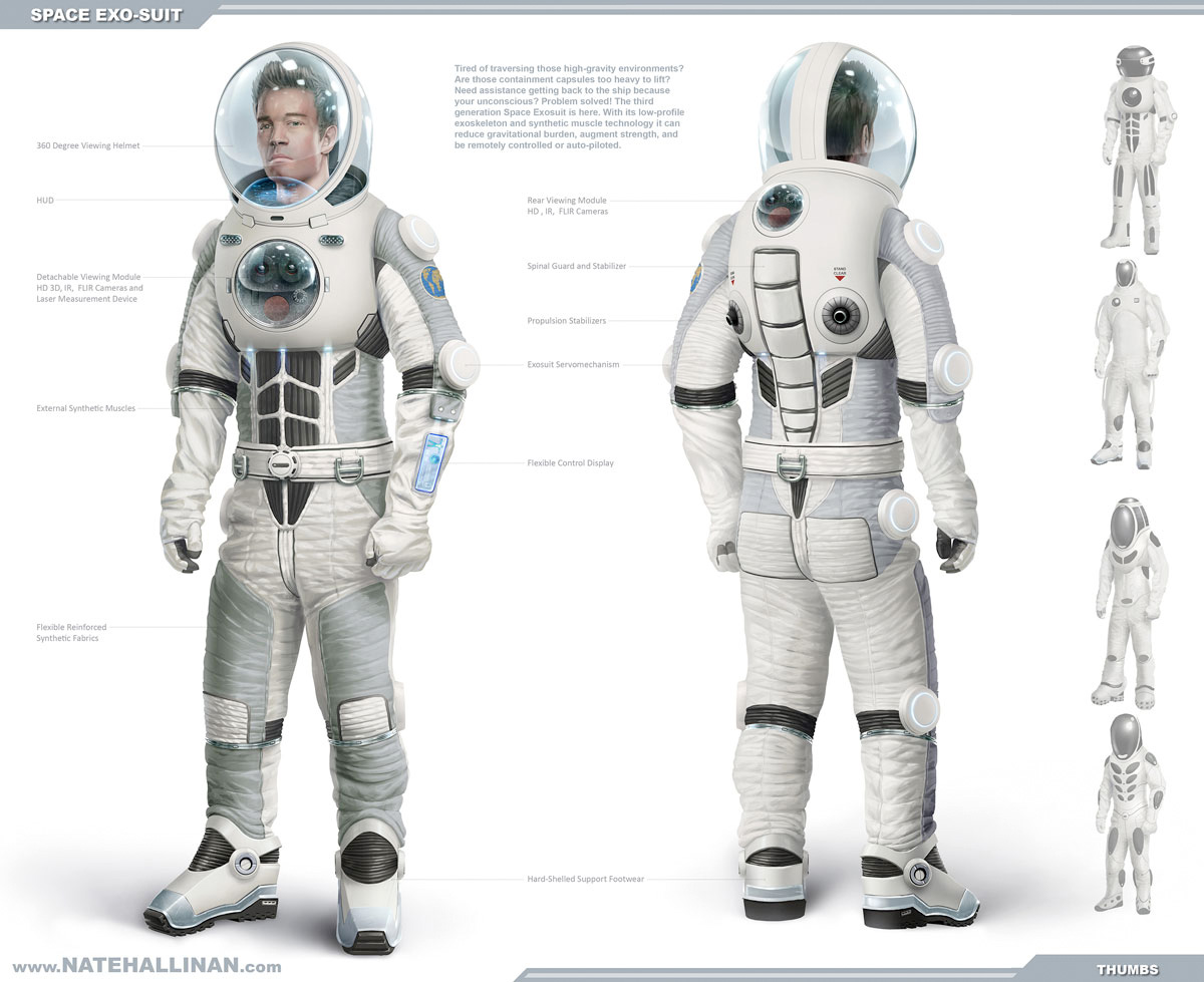 astronaut suit concept - photo #37