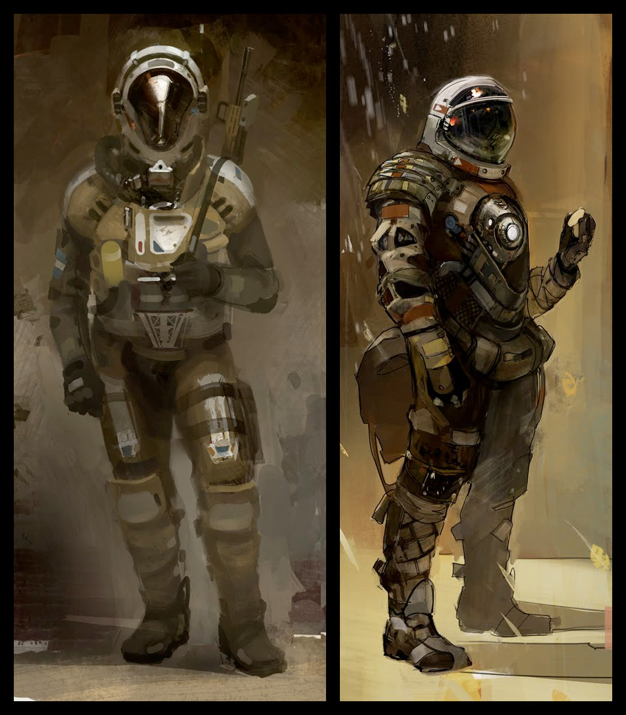39 Concept Art And Illustrations Of Astronauts Concept Art World