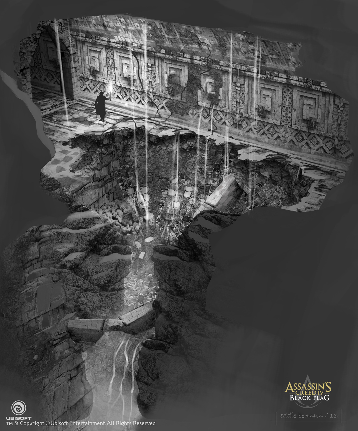 Art: Assassin's Creed IV Black Flag Concept Designs By Eddie
