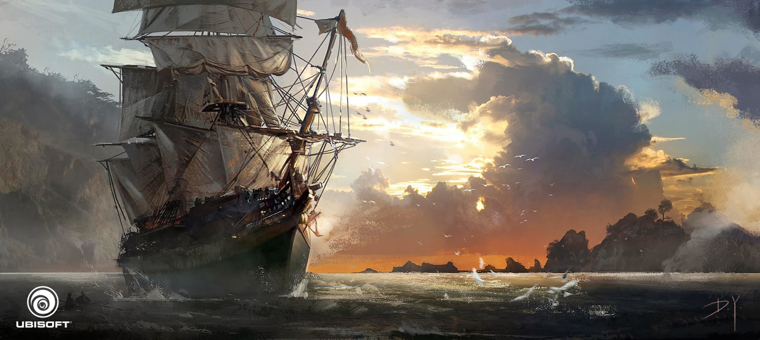 Assassin S Creed Iv Black Flag Concept Art By Donglu Yu
