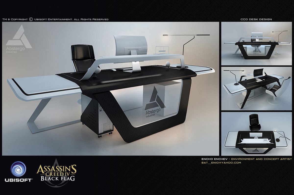 Assassin's Creed IV Black Flag Concept Designs by Encho