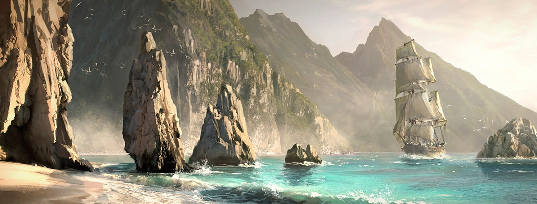 Assassin S Creed Iv Black Flag Concept Art By Raphael