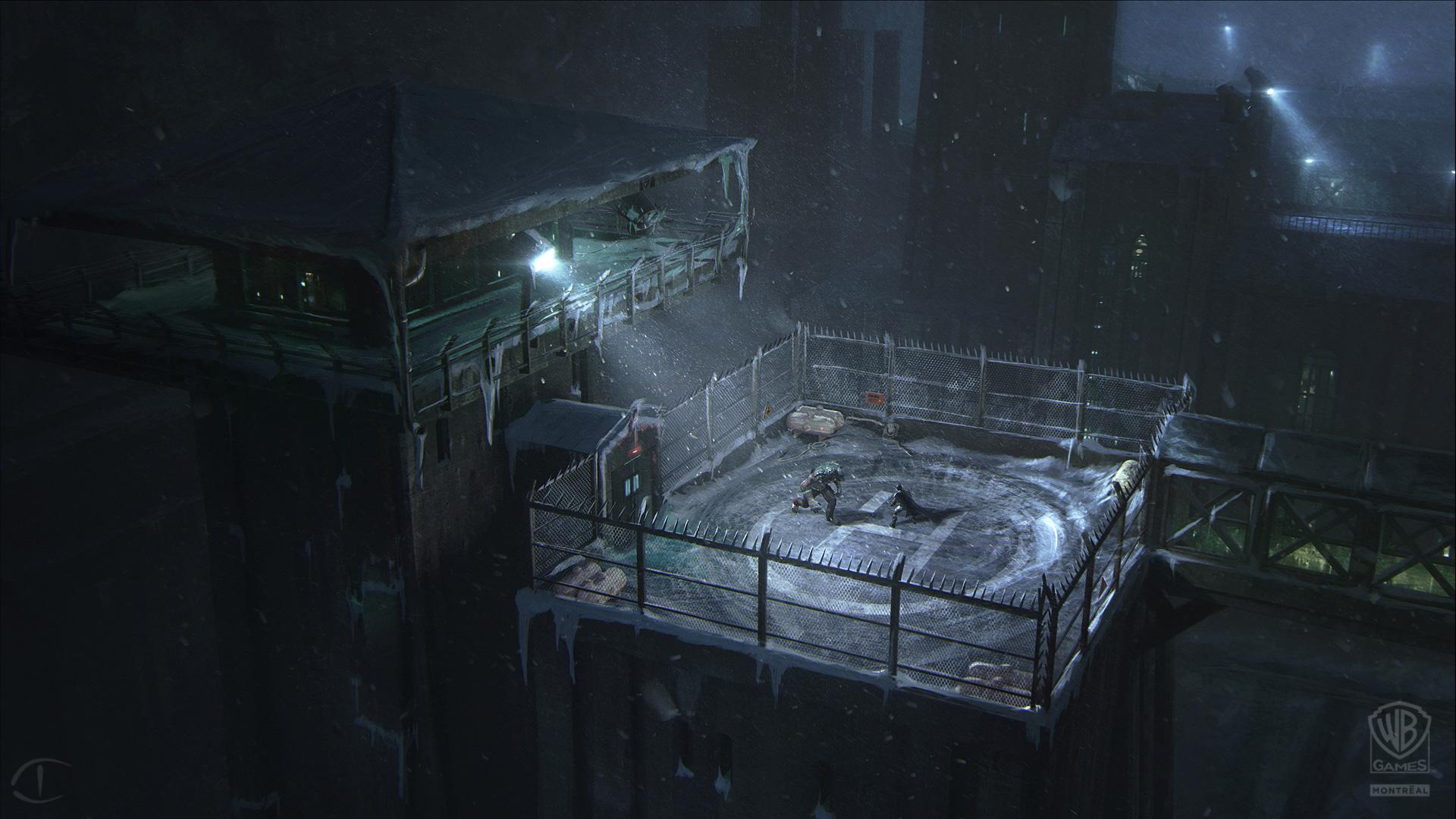 Batman Arkham Origins Concept Art By Daniel Kvasznicza Concept