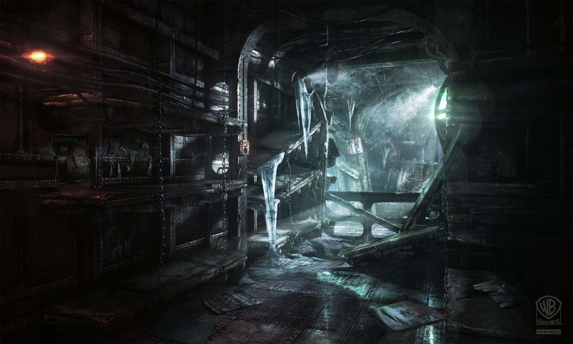 Batman Arkham Origins Concept Art Gallery