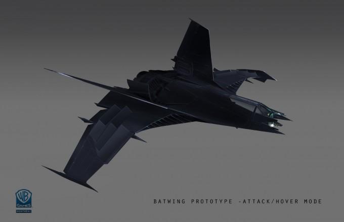 Batman_Arkham_Origins_Concept_Art_MH_batwing_prototype_attack