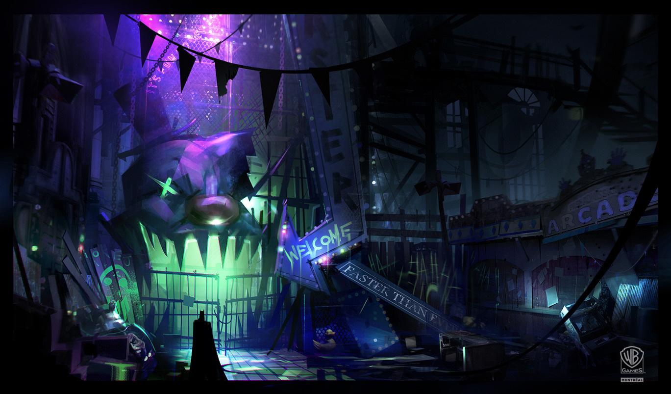 Batman Arkham Origins Concept Art By Virgile Loth