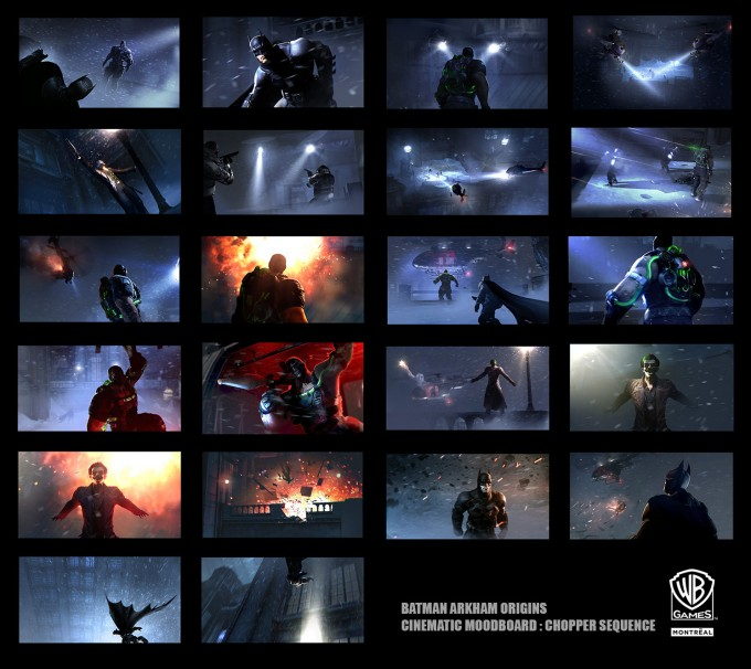 El Arte de Batman: Arkham Origins