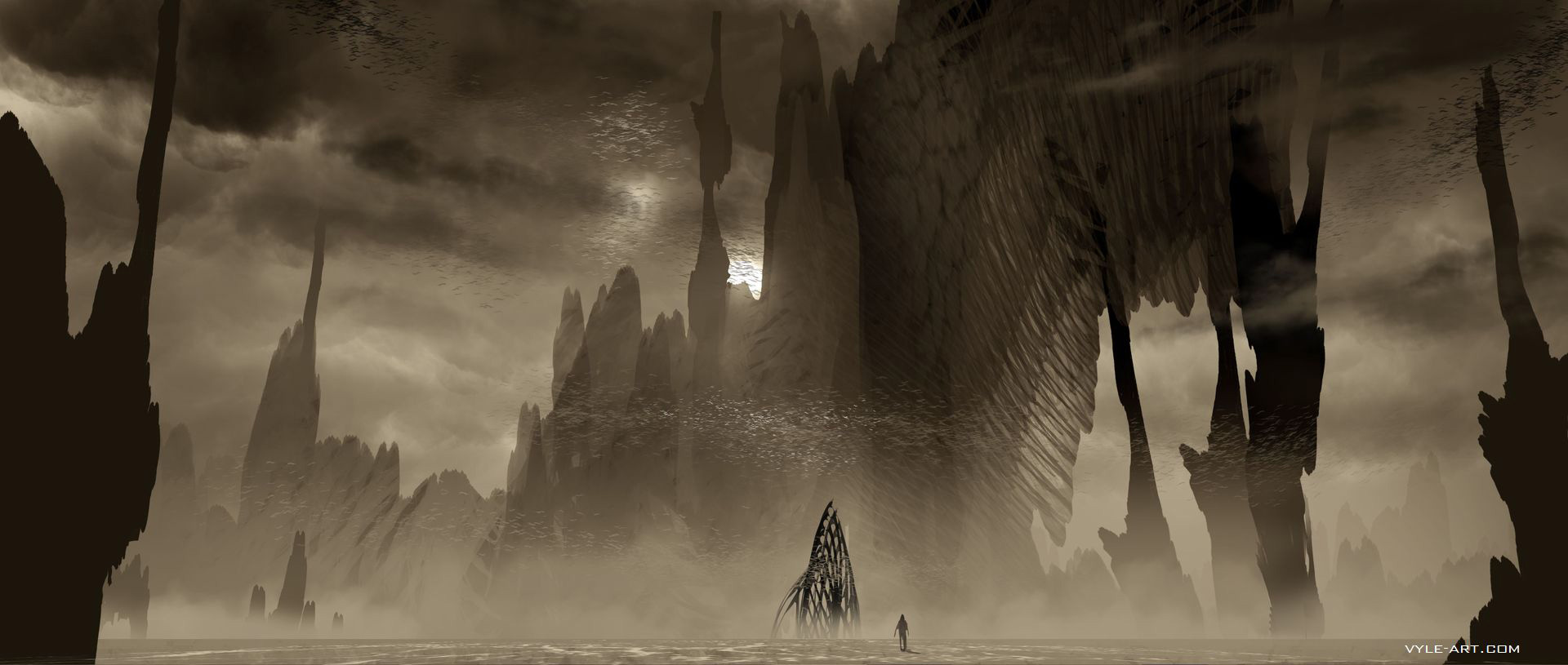 Ender's Game Concept Art by David Levy | Concept Art World
