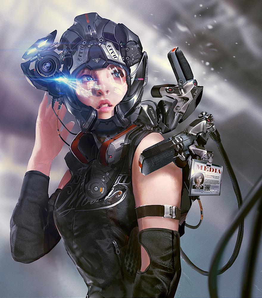 futuristic women females - photo #24