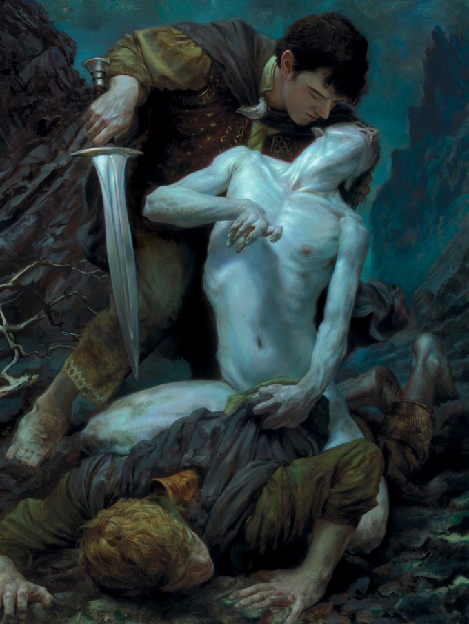 Middle-Earth_Hobbit_Smeagol_Donato_Giancola_Art_01
